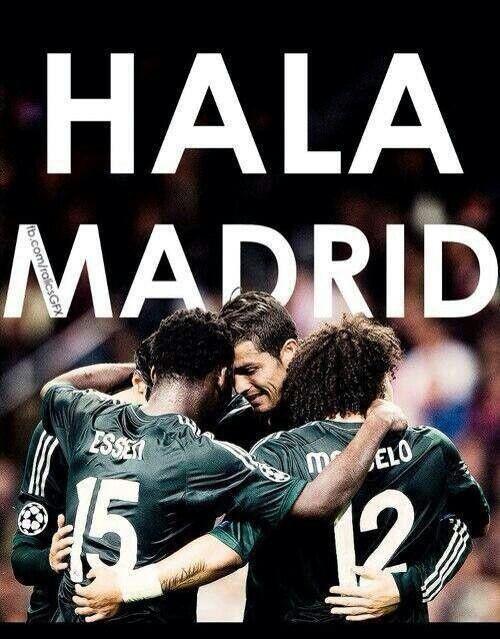 #Hala Madrid