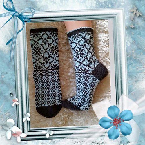 Ravelry: Maud socks pattern by JennyPenny