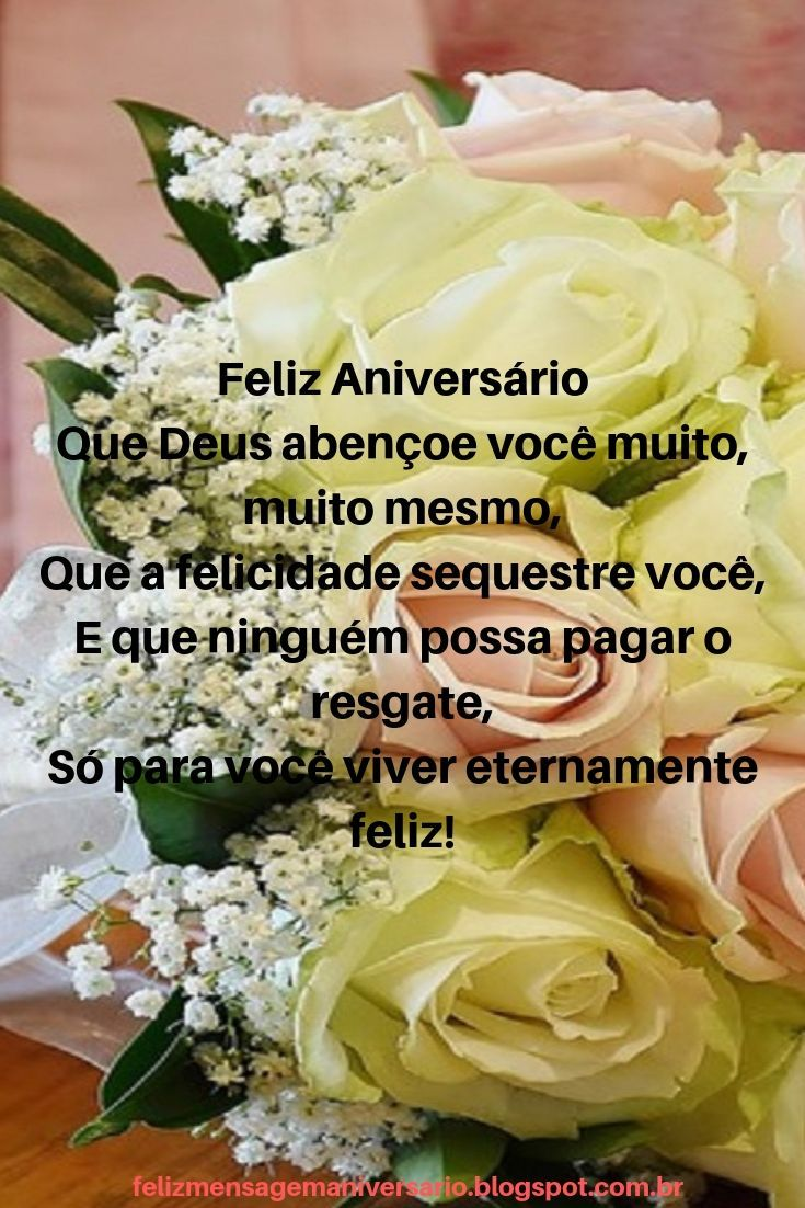 Imagem De Feliz Aniversario Por Albertina Arminda Em Mensagem