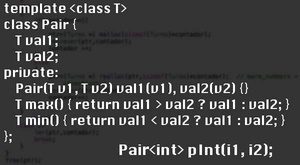 Class template in C++ - Out4Mind