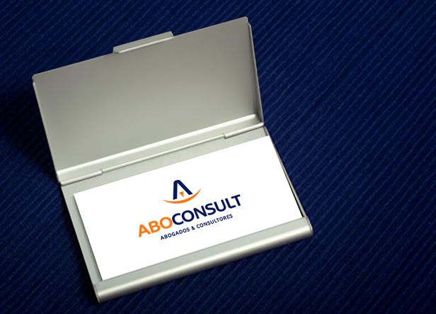 """ABOCONSULT: Diseño de logotipo para Aboconsult, un bufete de abogados y consultores ubicado en Valladolid y con un amplio abanico de servicios: derecho laboral, mercantil, civil, fiscal, impagos, negligencias, divorcios, etc... El icono está creado a partir de sus iniciales """"A"""" y """"C"""" colocadas de tal forma que recuerdan una balanza de forma muy simplificada. Los palitos diagonales de la """"A"""" serían los brazos de la balanza y la """"C"""" colocada horizontalmente sería la base."""