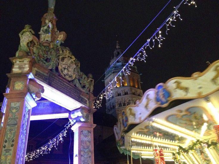 Weihnachtsmarkt Mainz 2014 Marktbrunnen