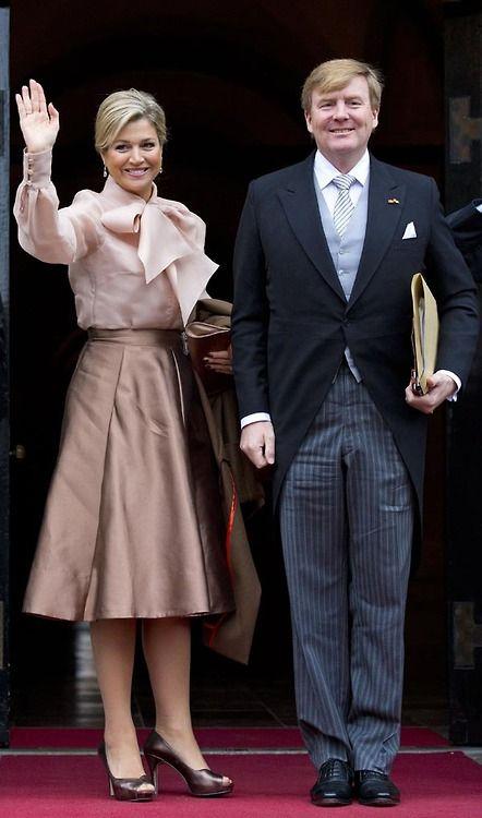 #Queen Maxima #King Willem-Alexander #Dutch Royal Family