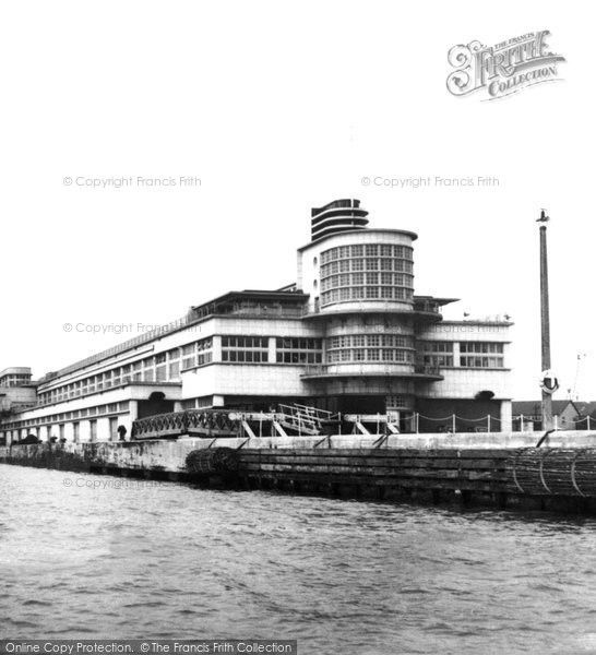 Southampton, The Ocean Terminal c.1955, from Francis Frith