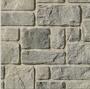 Masonry Veneer  walls of house under porch for patio room