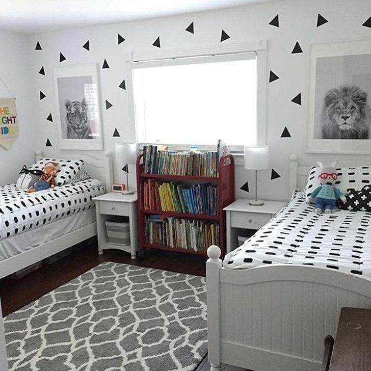 99 Cozy Small Rooms Design Ideas For Teens To Copy 99bestdecor Kids Shared Bedroom Boys Shared Bedroom Small Room Bedroom