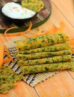 Colourful and nutritious, these carrot and coriander infused rotis made of rice flour and soya flour make a perfect mini meal with a bowl of curds and khichdi