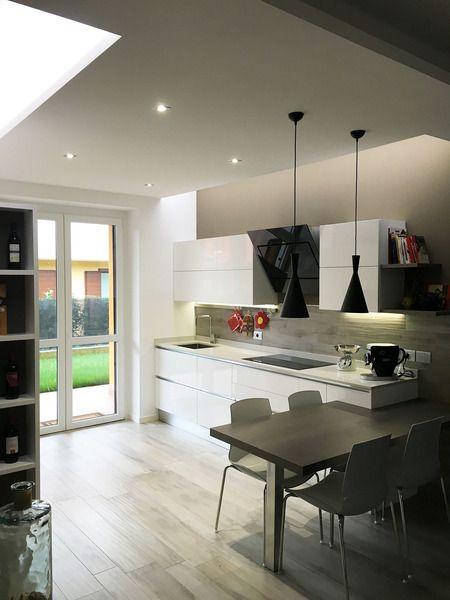 The kitchen Oyster of Francesca&Giovanni | Veneta Cucine