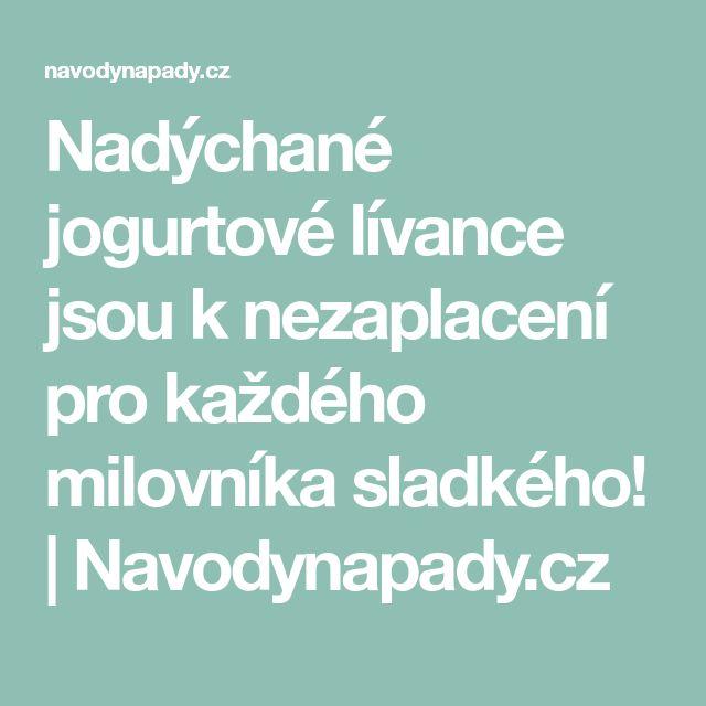 Nadýchané jogurtové lívance jsou k nezaplacení pro každého milovníka sladkého!   Navodynapady.cz