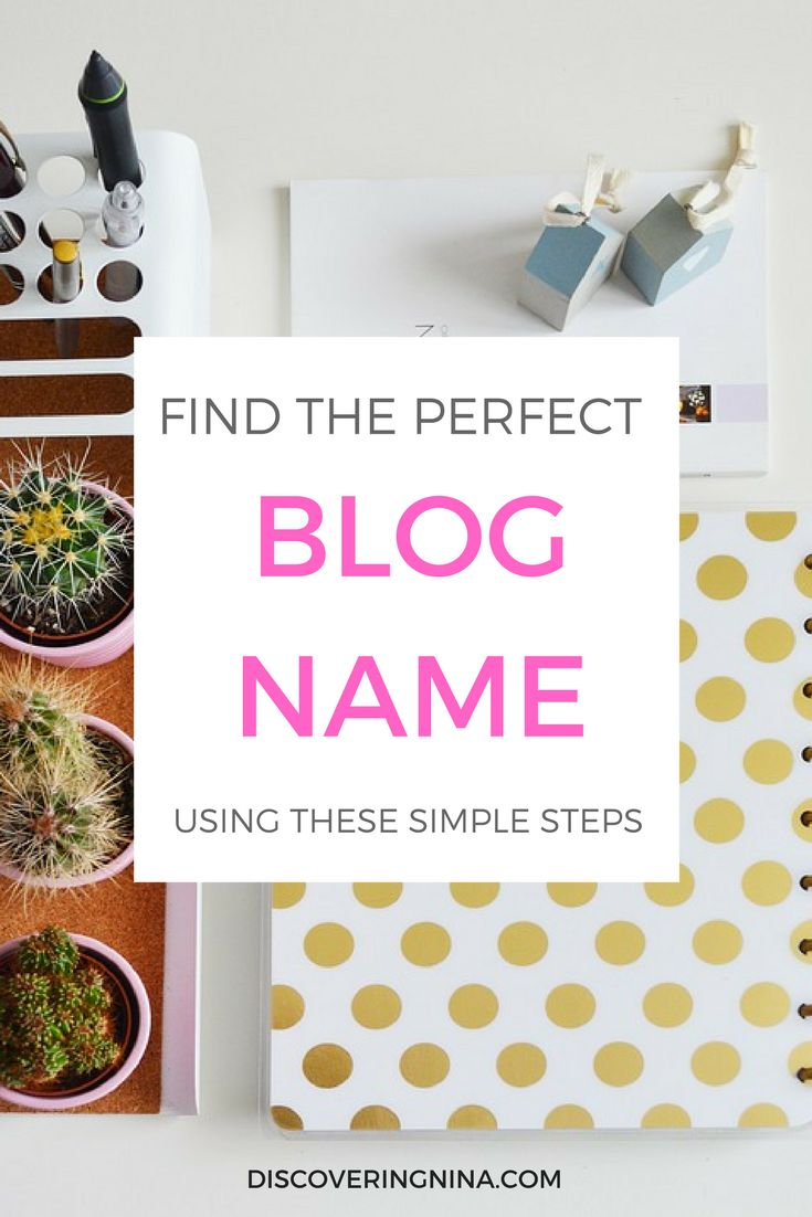 Get blog name ideas for your website. Learn tips on how to choose the perfect blog name. Learn how to name a blog, and get blog name inspiration.