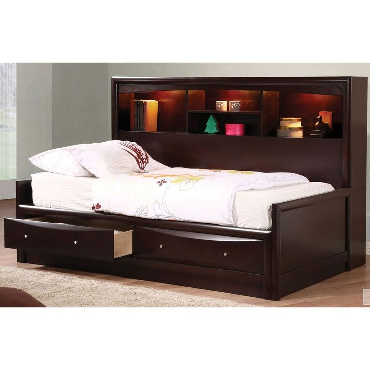 Coaster Phoenix Daybed In Cuccino Finish At Ladder Great Deals On Beds With A Superb Selection To Choose From