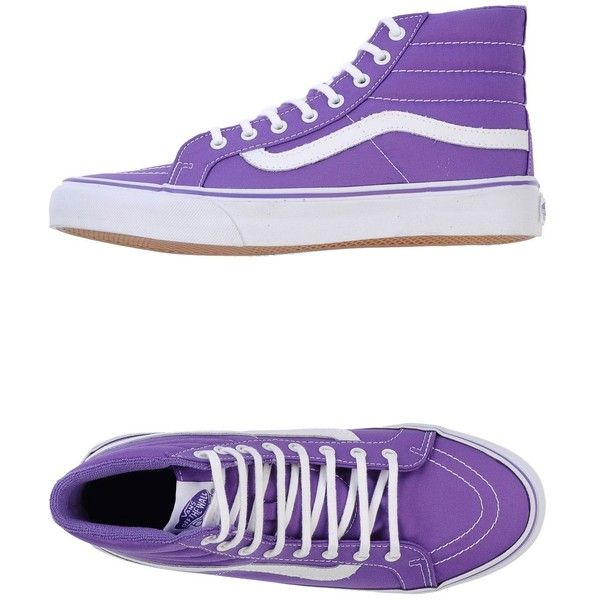 Buy purple high top vans 508880f7a647
