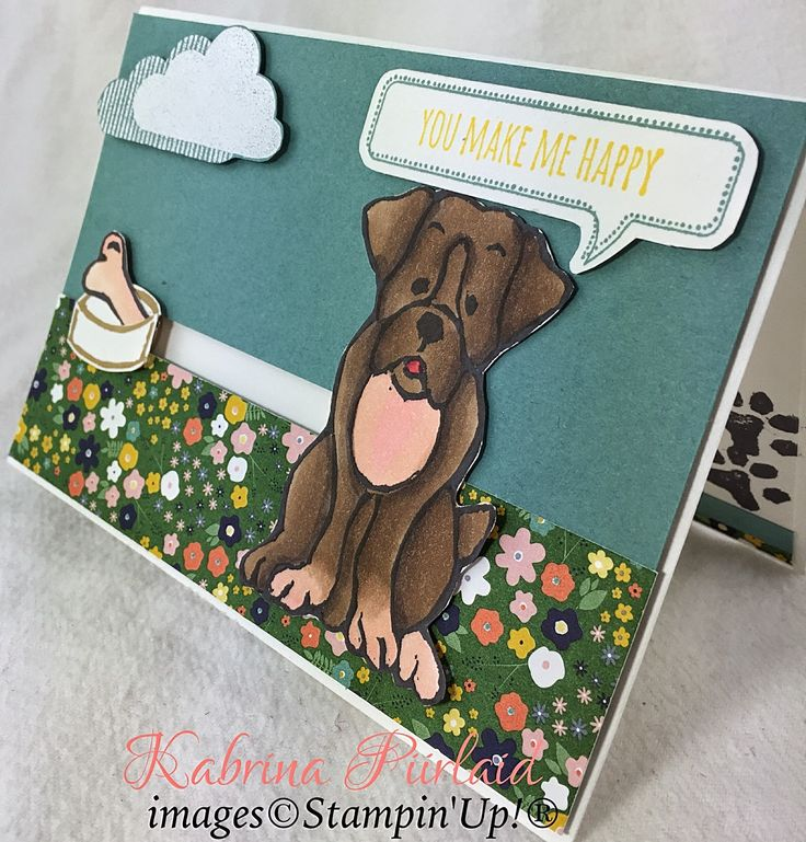 By Kabrina Piirlaid | Just Add Ink | The Undefined Boxer | Undefined Stamp Carving kit | Stampin' Up!