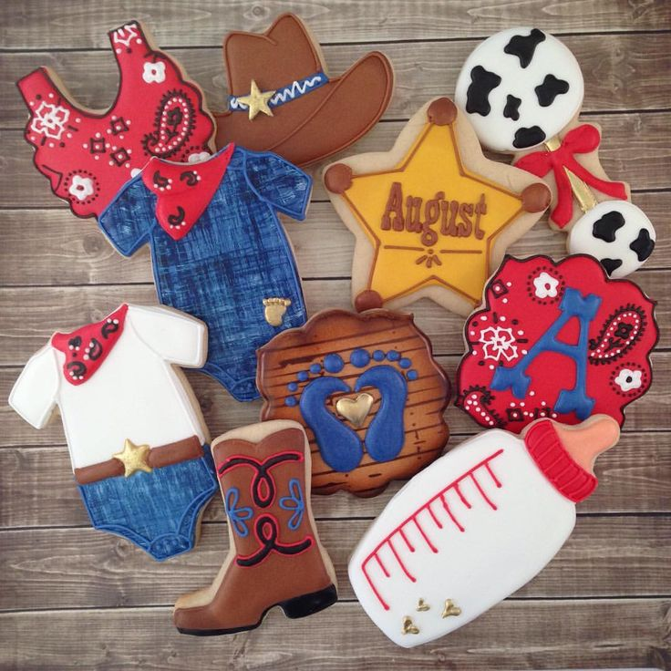 Baby Shower Cowboy Theme: 1000+ Images About Cookies - Cowboy On Pinterest