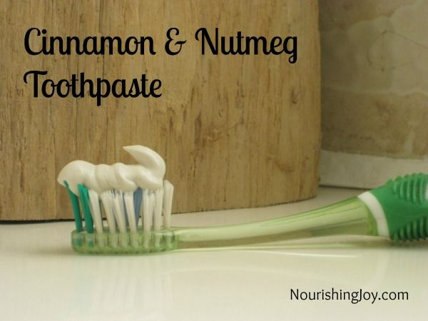 Homemade Toothpase Recipe � All Natural