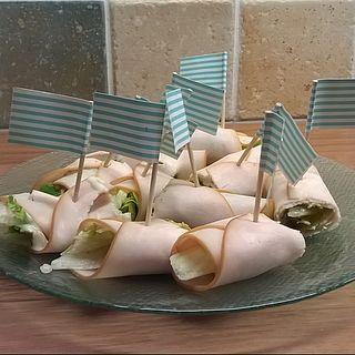 Makkelijke snack: kiprolletjes (Voedzo)