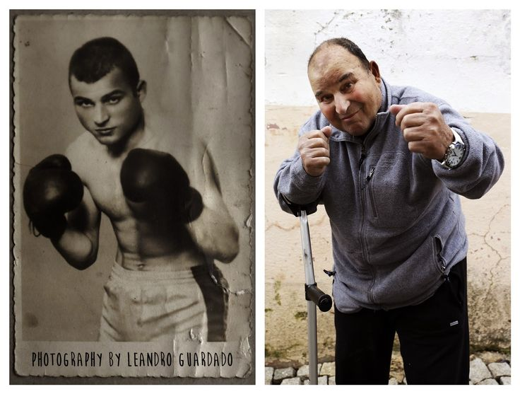 The boxer Joaquim Fontes at age 80