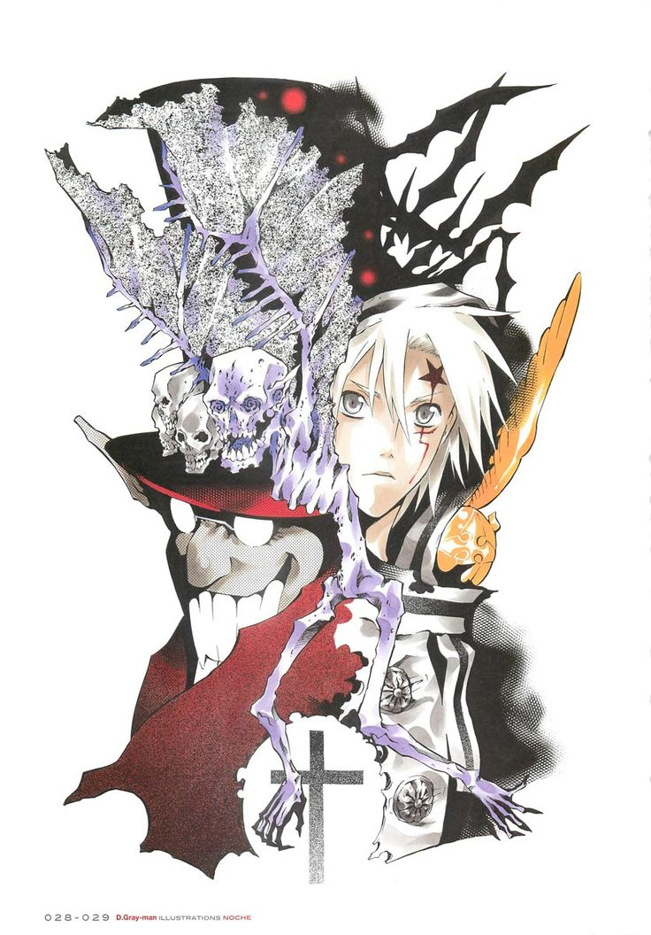 143 best images about d gray man on pinterest gray - D gray man images ...