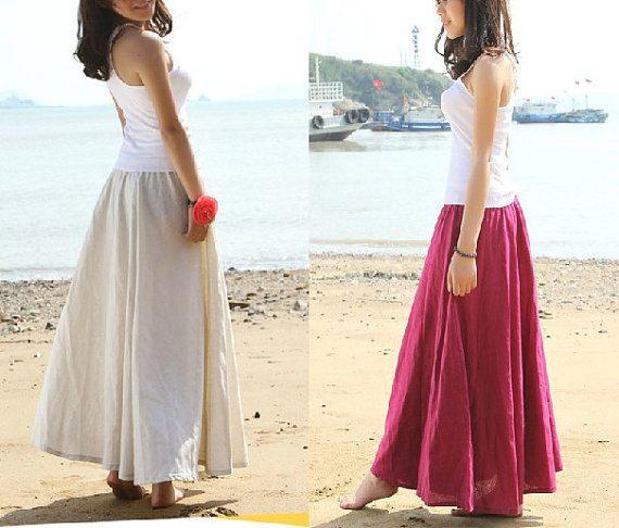 Top 25 ideas about skirts on Pinterest | Beach dresses, Wide leg ...