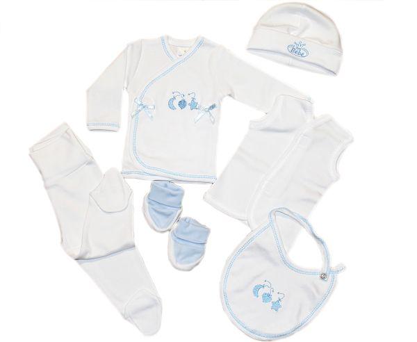 Conjunto bebé seis piezas para recien nacido