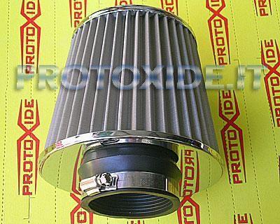 Filtro aria mod.2 - 70mm al prezzo di 38,63 € Euro.  Filtro aria per aspirazione diretta con attacco a manicotto grande da 70mm.  Includiamo nella confezione fascetta per fissare il filtro.