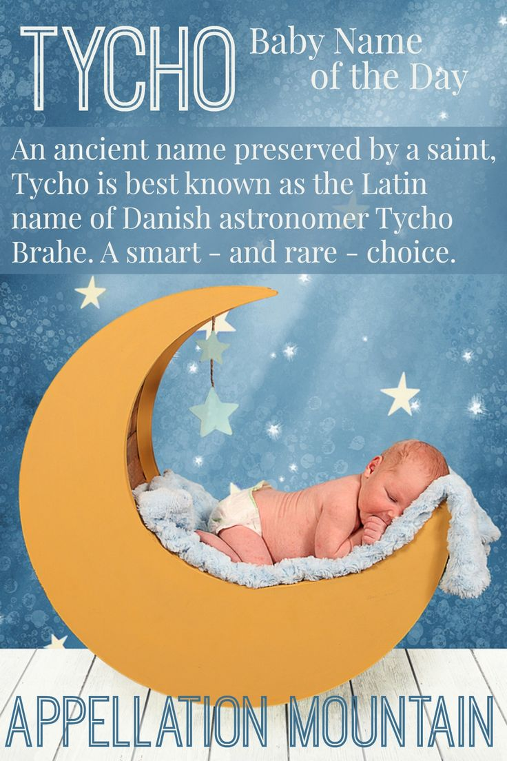 Looking For Rare Boy Names? Tycho Fits The Bill. With A Great Meaning,