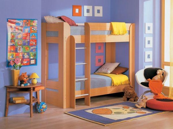 Проект кровать. Возможно двухярусная. Строго по согласованию с родителями. Не факт что в 3 года нужна двухярусная.