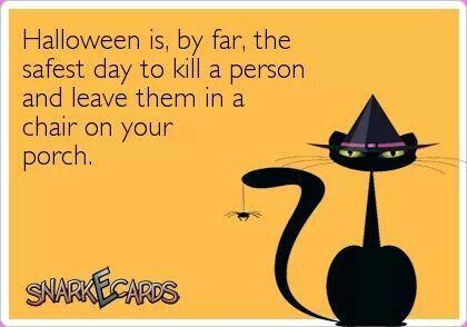 Left over Halloween Humor