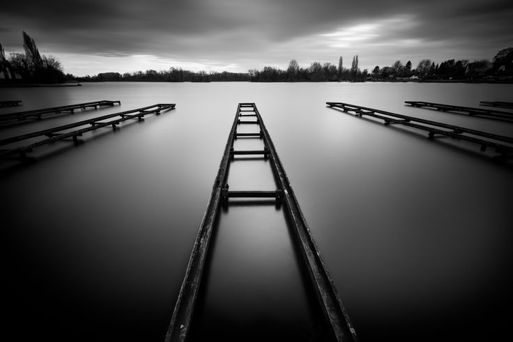 https://flic.kr/p/RcepfA | once a jetty | went to a lake, and every spot i did was nothing much, kind of demotivating really, and just when i was leaving, i passed this one, had to wait pretty long until the sky had some clouds, but it paid of i think edited in silver effex and some d&b in photoshop