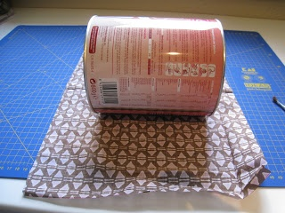 MANBUTutoríal: Como forrar una caja con tela.