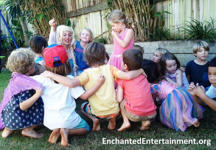Elsa Character Party! EnchantedEntertainment.org , Entertaining children across Northern NSW and the Gold Coast, Australia http://www.enchantedentertainment.info/