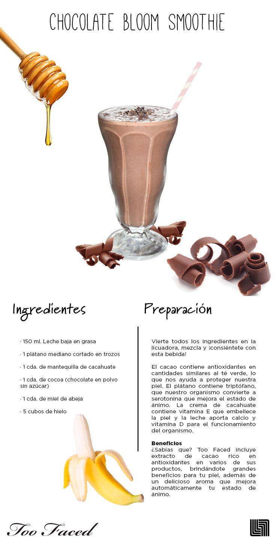 Descubre las maravillas que el cacao puede hacer por tu piel.   #cacao #smoothie #saludable #celebremos #belleza #festivaldeltratamiento