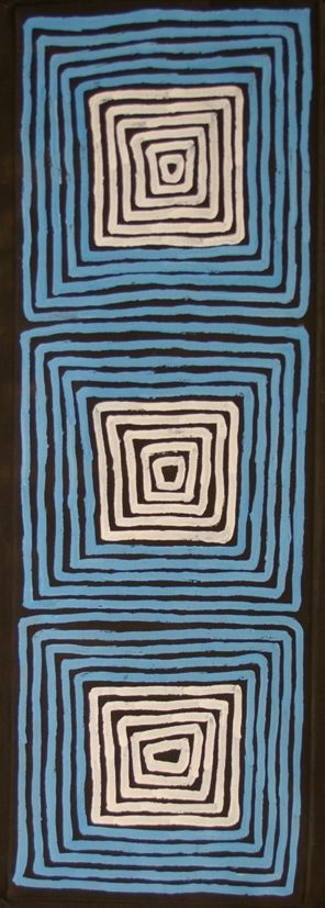 Tingari - by Ronnie Tjampitjinpa - Aboriginal Art