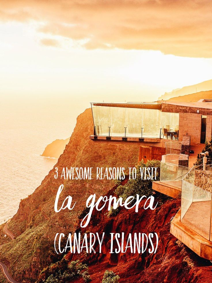 3 awesome reasons to visit La Gomera (Canary Islands). See our beautiful guide