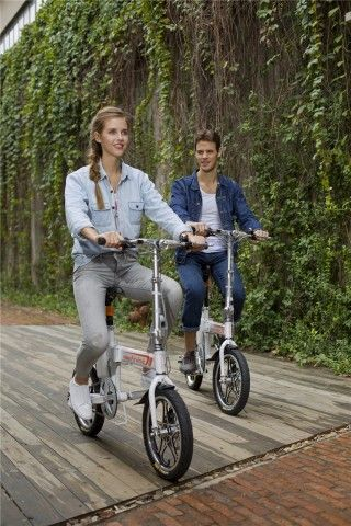 Smart portable Airwheel R5 Electric Bike Gives People High-Efficient Life