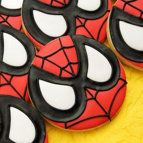 Spider-Man Cookies Spiderman cookies