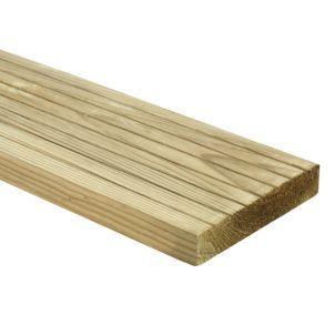 Wickes Deck Board 25 x 120mm x 2.4m | Wickes.co.uk