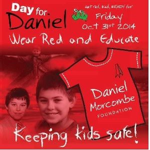 Day for Daniel is this Friday.  Wear your red and discuss child safety with your kids - Natalie
