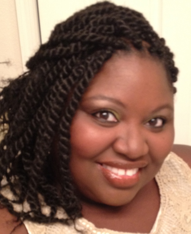 Crochet Braids Arlington Tx : Protective styling - large two strand twist using Naffy collection ...
