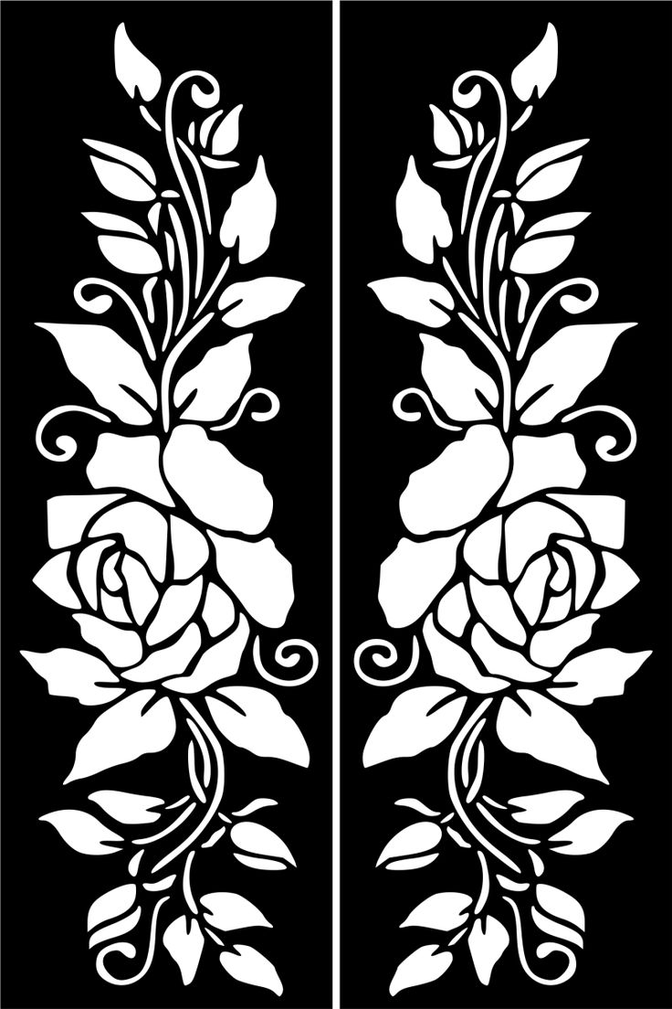 Temporary Tattoo Stencils Henna: Flowers Images On Pinterest