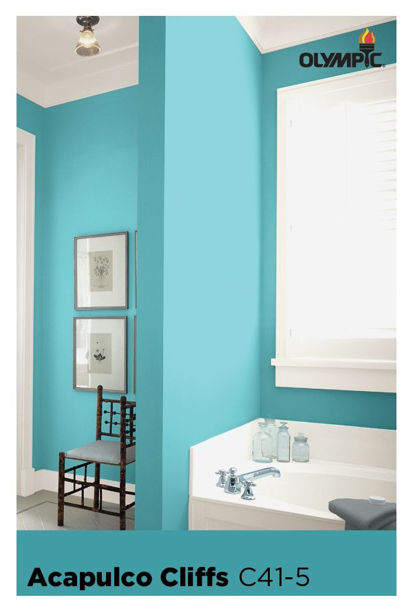 Aqua Paint Colors 181 best blue paint colors images on pinterest | olympic paint
