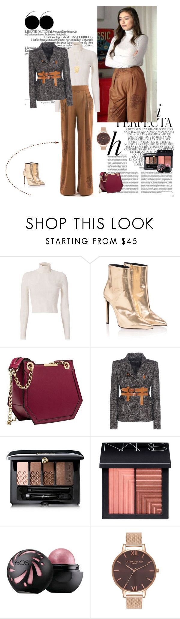 """Kara Sevda - Nihan Bolum 19"" by chaneladdicted ❤ liked on Polyvore featuring Whiteley, A.L.C., Balenciaga, Tom Ford, Guerlain, NARS Cosmetics, Olivia Burton and Gorjana"