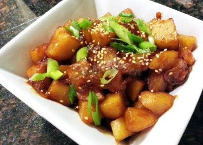 Korean Potato Side Dish ( Gamjajorim )