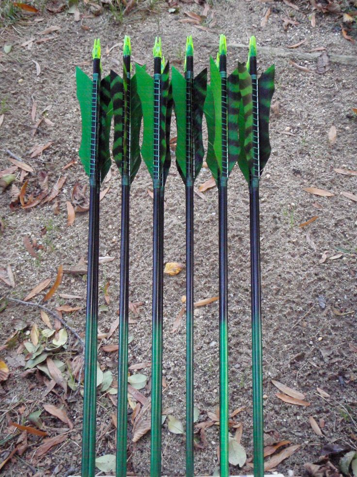 Toxic Avenger archery arrows, 35-40lb, dozen traditional wood archery arrows, archery arrow set by WarpathArchery on Etsy https://www.etsy.com/listing/208918061/toxic-avenger-archery-arrows-35-40lb