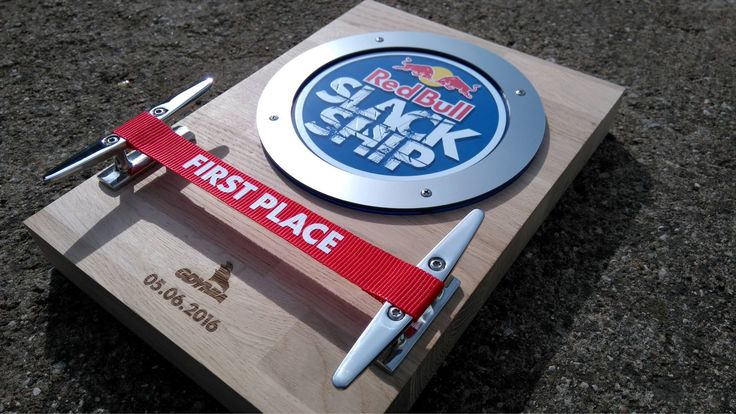 Red Bull SLACK SHIP - first place trophy