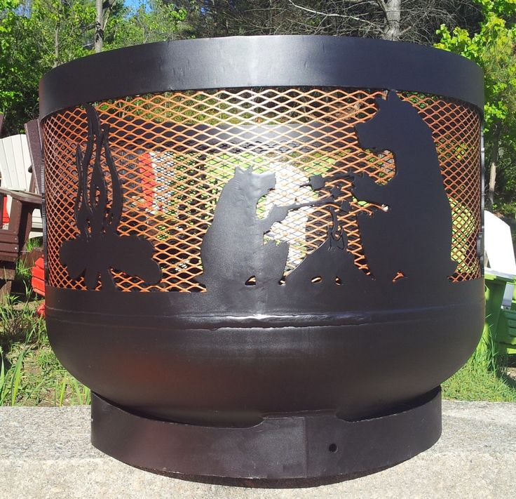 Wood Burning Muskoka Fire Pit 30 Quot Diameter Made Out Of