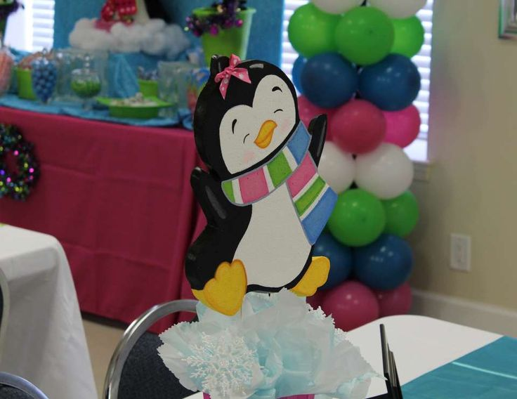 Fun & Frosty Penguin Party