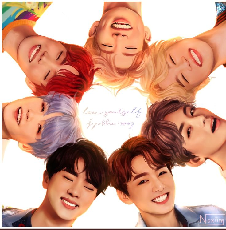 #btsfanart this is one of the best things ive ever seen in my life bts fanart group