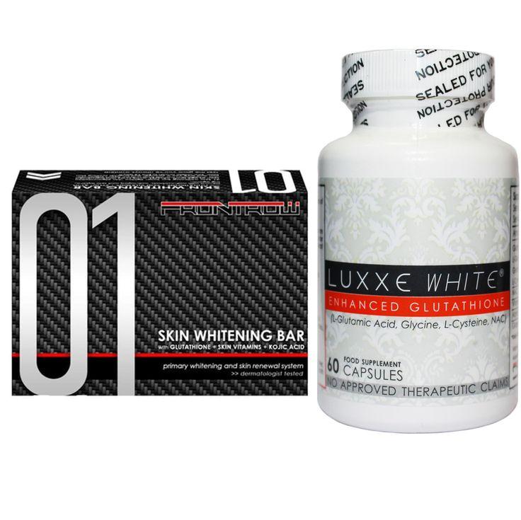 NEW Authentic Luxxe White Capsules & 01 Skin Whitening Soap Set