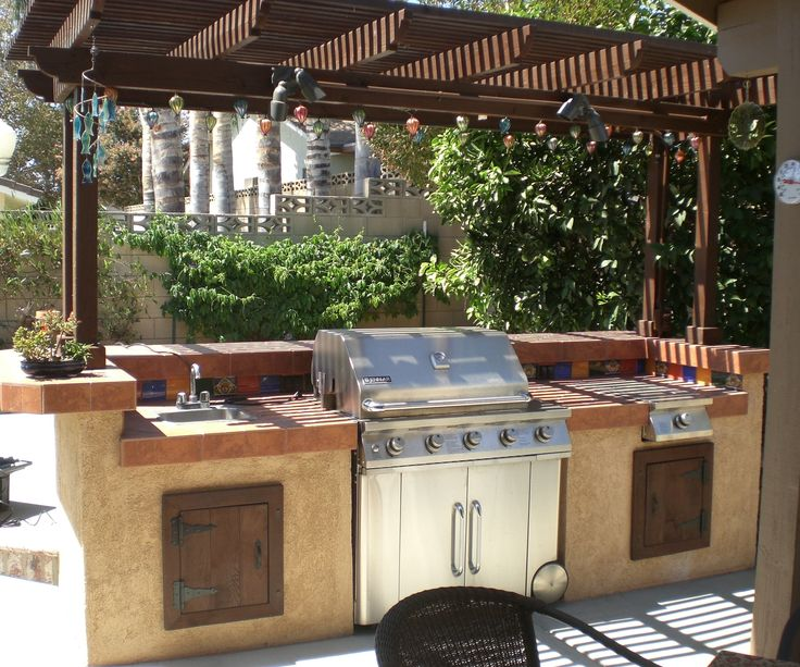 create a great barbecue and outdoor eating area that will raise the value of your house! **updated with new pictures on the last step**